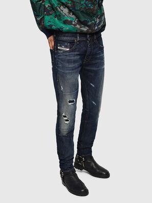 Thommer 0890W, Dunkelblau - Jeans