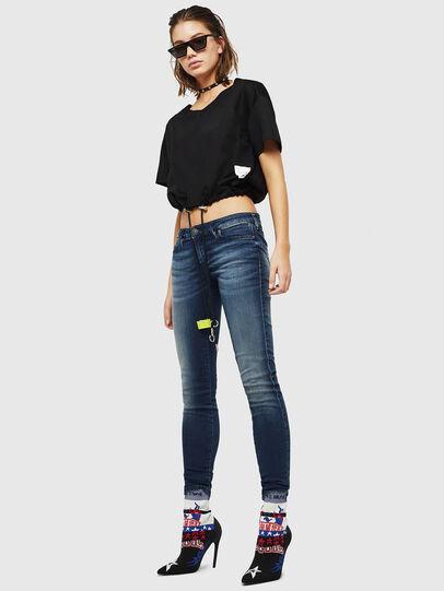Diesel - Gracey JoggJeans 069HF, Dunkelblau - Jeans - Image 5