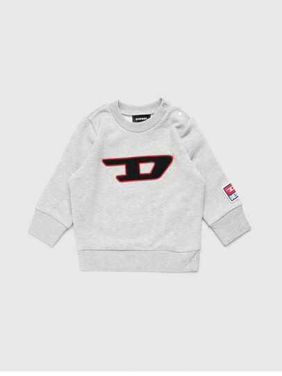 Diesel - SCREWDIVISIONB-D, Grau - Sweatshirts - Image 1