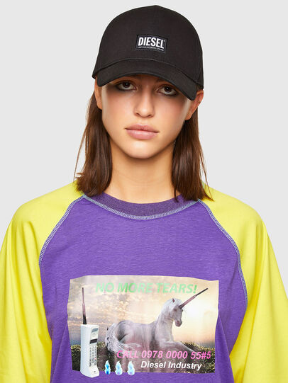 Diesel - T-SPO, Violett/Gelb - T-Shirts - Image 3