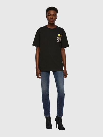 Diesel - T-BOYISH, Schwarz - T-Shirts - Image 4
