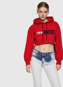 F-DINIE-A, Feuerrot - Sweatshirts