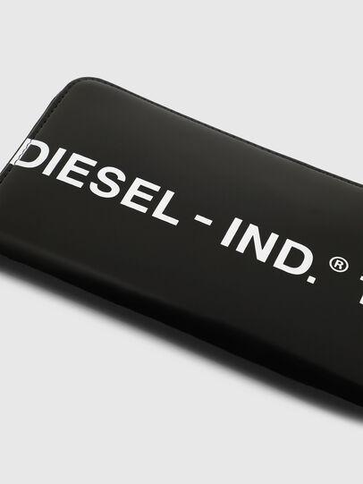 Diesel - 24 ZIP, Schwarz - Portemonnaies Zip-Around - Image 5