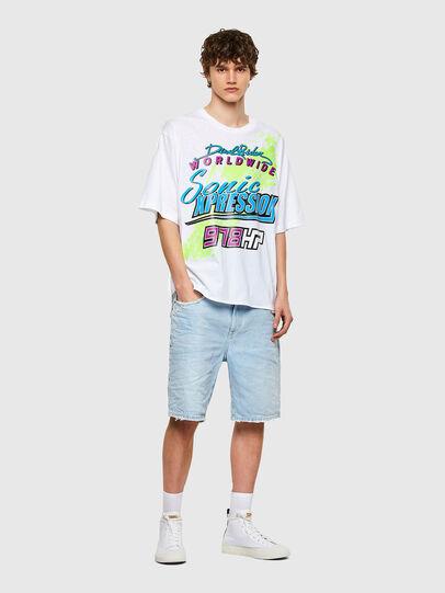 Diesel - T-DELPHONE, Weiß - T-Shirts - Image 4