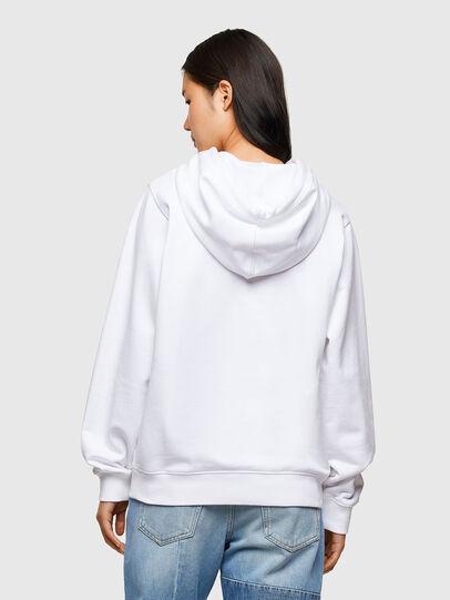 Diesel - F-ANG-HOOD-R20, Weiß - Sweatshirts - Image 2
