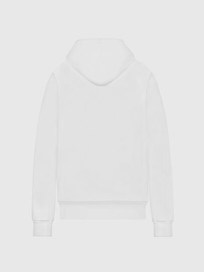 Diesel - F-ANG-HOOD-LOGO, Weiß - Sweatshirts - Image 2