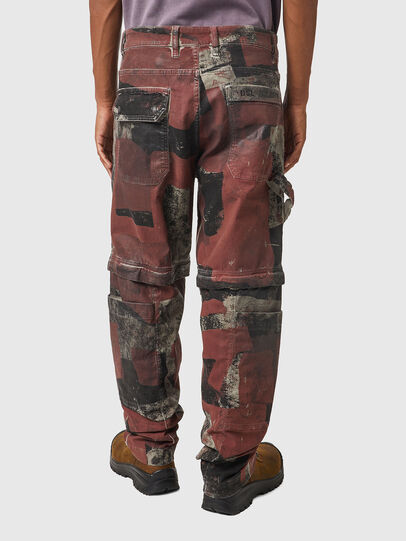 Diesel - D-Multy JoggJeans® 0CEAM, Rosa/Schwarz - Jeans - Image 2