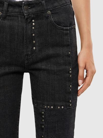 Diesel - D-Joy 009KY, Schwarz/Dunkelgrau - Jeans - Image 5