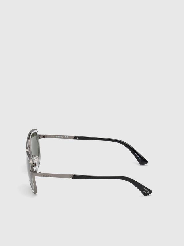 Diesel - DL0266, Schwarz/Grau - Sonnenbrille - Image 3