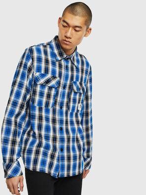 S-GERRY-CHECK, Blau/Schwarz - Hemden