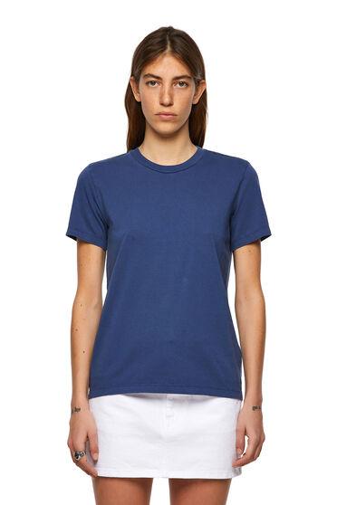 T-Shirt mit Glanzprint am Rücken
