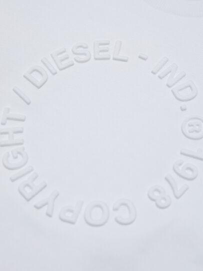 Diesel - SGIRKA70 OVER, Weiß - Sweatshirts - Image 3
