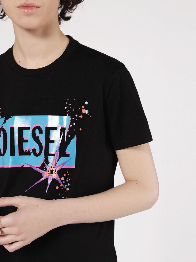 Diesel - T-EXPLO, Schwarz - T-Shirts - Image 3
