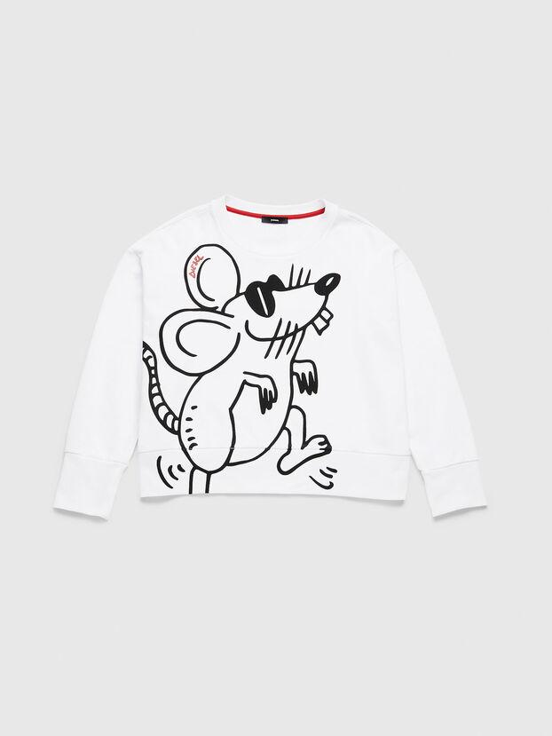 CL-F-MAGDA-BIGM, Weiß - Sweatshirts