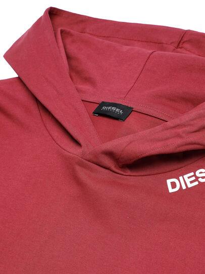 Diesel - UMLT-JIMMIES FELPA, Rot - Sweatshirts - Image 3
