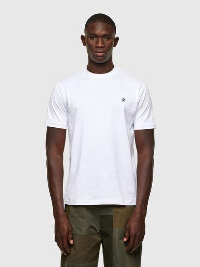 Diesel - T-JUSTY, Weiß - T-Shirts - Image 1