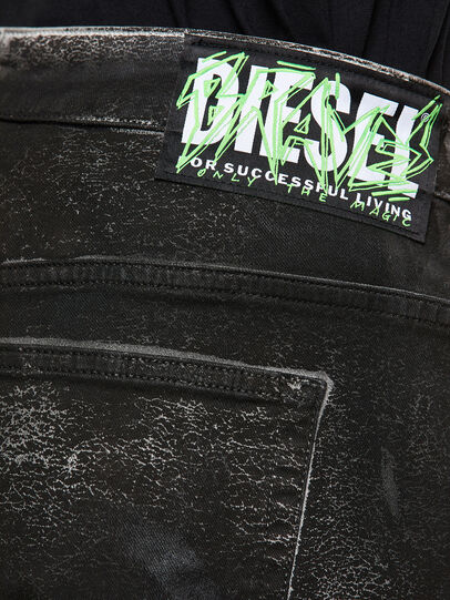 Diesel - Fayza 009DL, Schwarz/Dunkelgrau - Jeans - Image 4