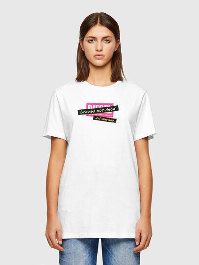 Diesel - T-DARIA-R2, Weiß - T-Shirts - Image 1