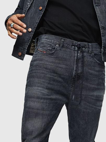 Diesel - D-Vider JoggJeans 0090H, Dunkelblau - Jeans - Image 3