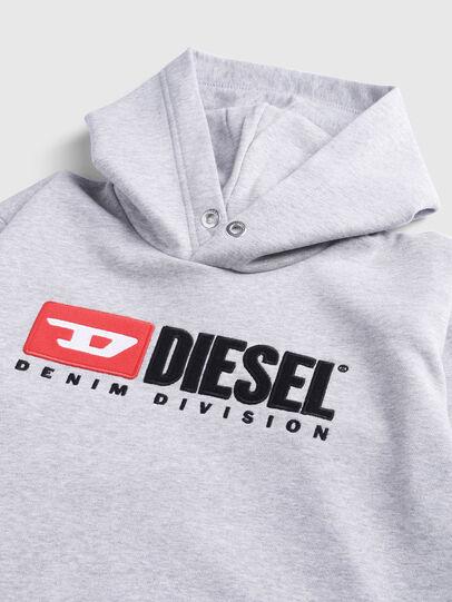 Diesel - SDIVISION OVER, Grau - Sweatshirts - Image 3