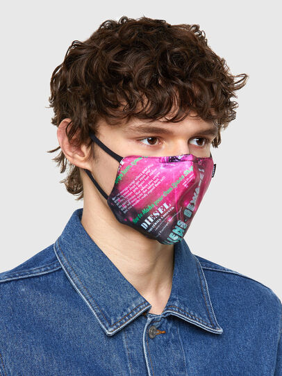 Diesel - FACEMASK-UNIVERSE-PI, Rosa - Weitere Accessoires - Image 2