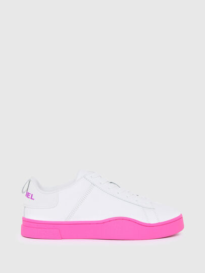 Diesel - S-CLEVER LOW LACE W, Weiss/Rosa - Sneakers - Image 1