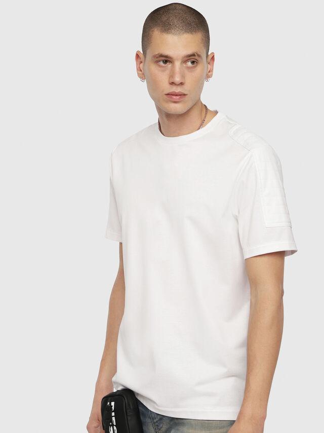 Diesel - T-SADAO, Weiß - T-Shirts - Image 1