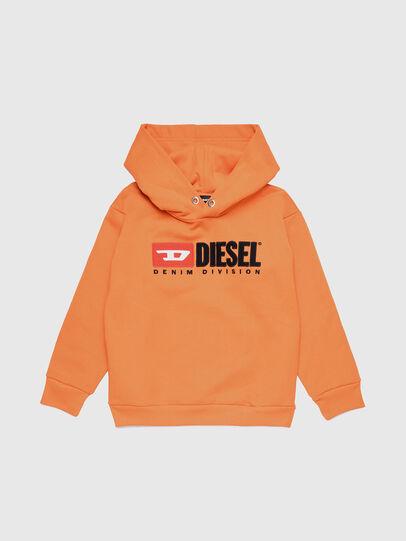 Diesel - SDIVISION OVER, Orange - Sweatshirts - Image 1