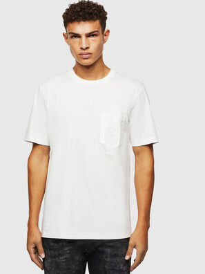 T-JUST-POCKET-J1, Weiß - T-Shirts