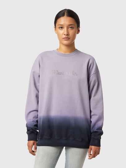 Diesel - S-MART-B4, Blau/Violett - Sweatshirts - Image 2