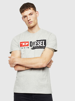T-DIEGO-CUTY, Grau - T-Shirts