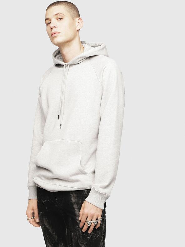 S-GIM-HOOD-A, Hellgrau - Sweatshirts