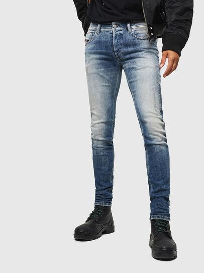 Diesel - Sleenker 0098D, Hellblau - Jeans - Image 1