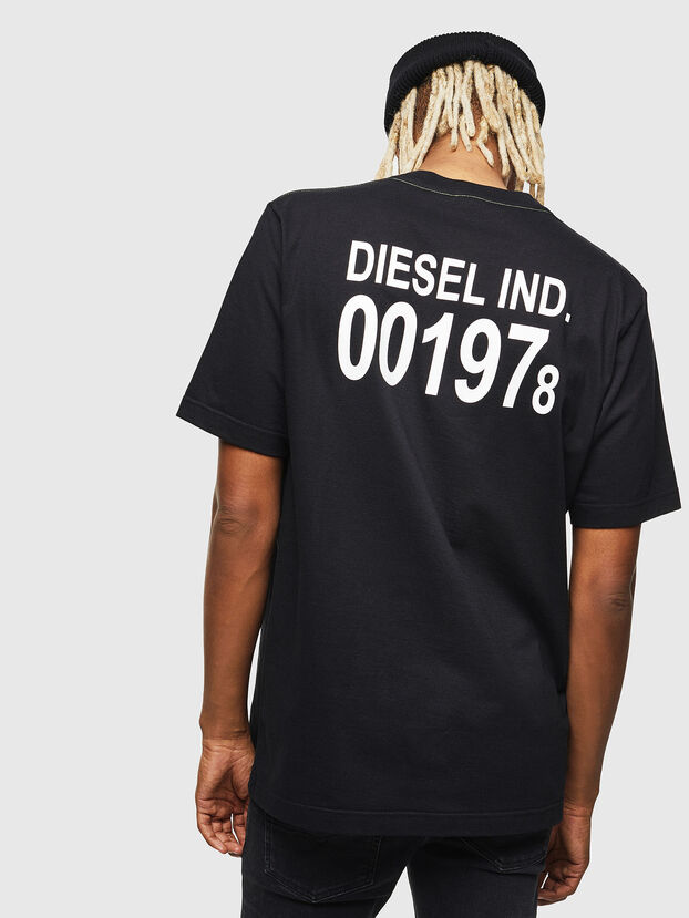 T-JUST-VINT, Schwarz - T-Shirts
