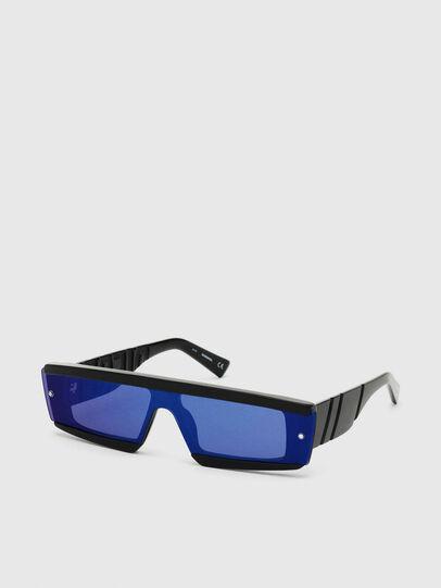 Diesel - DL0318, Schwarz/Blau - Sonnenbrille - Image 2