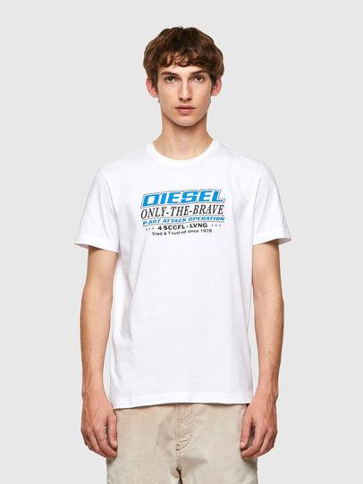 Diesel - T-DIEGOS-K20, Weiß - T-Shirts - Image 1