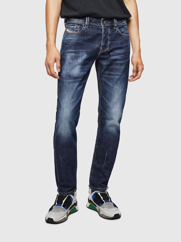 Larkee-Beex 083AU, Dunkelblau - Jeans