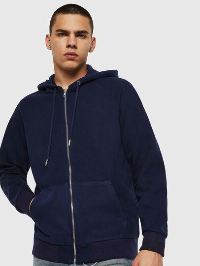 Diesel - S-ERGEY, Blau - Sweatshirts - Image 1