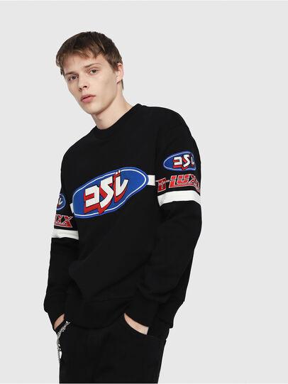 Diesel - S-BAY-YF,  - Sweatshirts - Image 1