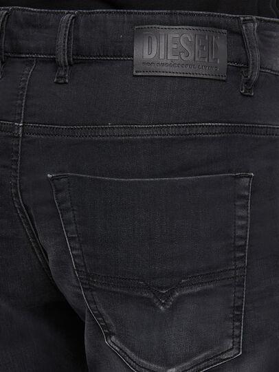 Diesel - Krooley JoggJeans 009KD, Schwarz/Dunkelgrau - Jeans - Image 4