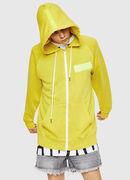 S-GIM-HOOD-ZIP, Neongelb - Sweatshirts