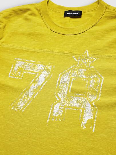 Diesel - TDIEGOCUTA, Gelb - T-Shirts und Tops - Image 3
