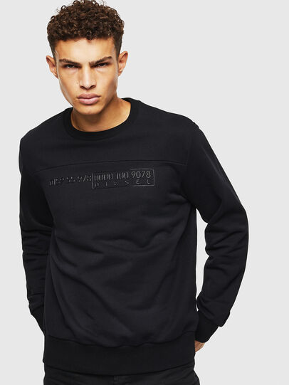 Diesel - S-CORY, Schwarz - Sweatshirts - Image 1