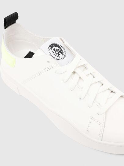 Diesel - S-CLEVER LS, Weiß/Gelb - Sneakers - Image 5