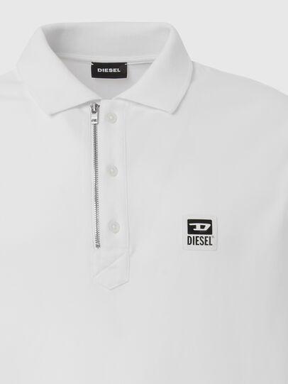 Diesel - T-HARRY, Weiß - Polohemden - Image 3