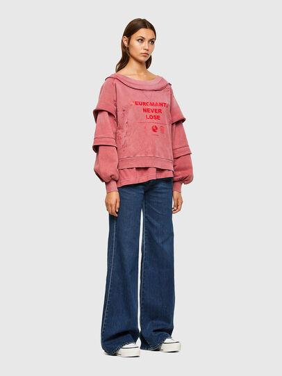 Diesel - F-STRAT, Rosa - Sweatshirts - Image 5