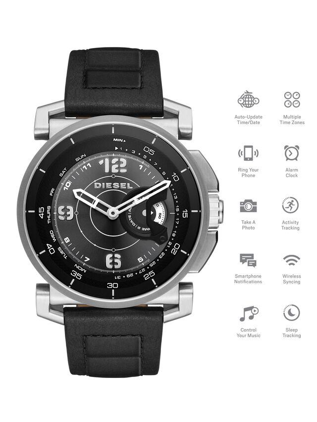 Diesel - DT1000, Schwarz - Smartwatches - Image 1