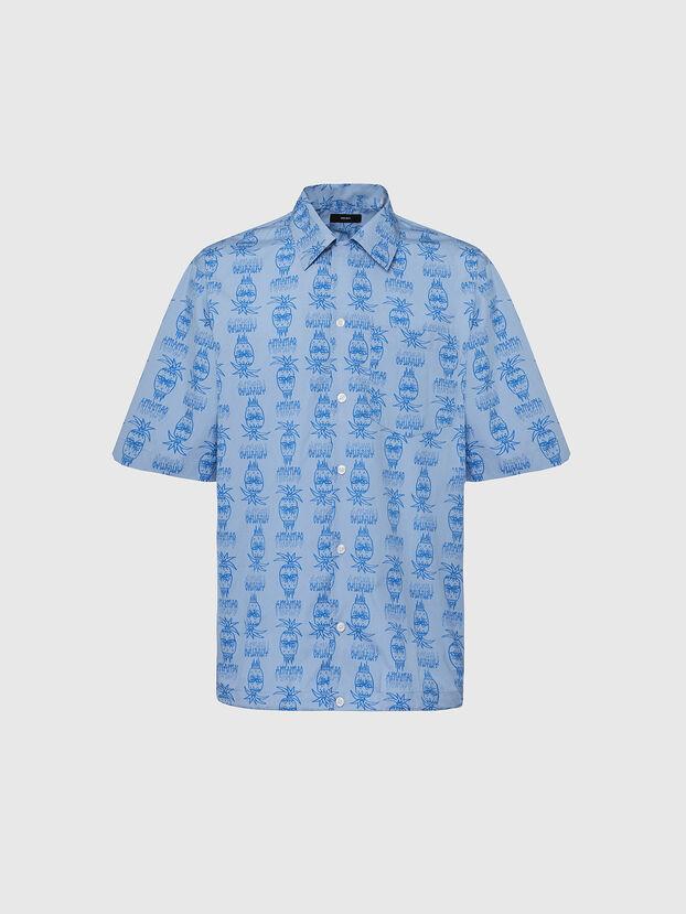 S-ROHAD-C, Hellblau - Hemden