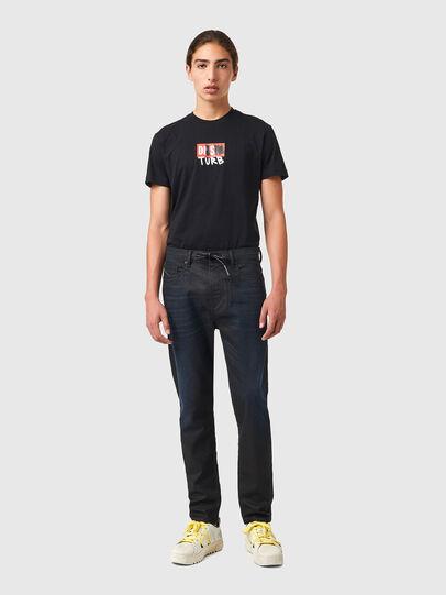 Diesel - D-VIDER JoggJeans® 069XN, Schwarz/Dunkelgrau - Jeans - Image 5