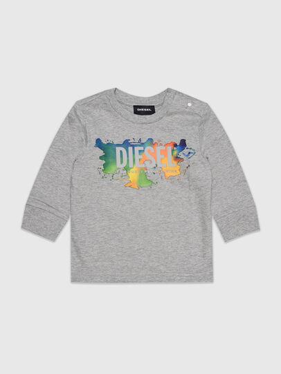 Diesel - TDOSKYB ML, Grau - T-Shirts und Tops - Image 1